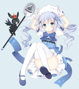 Rating: Questionable Score: 63 Tags: anko_(gochuumon_wa_usagi_desuka?) chinese_orange gochuumon_wa_usagi_desu_ka? kafuu_chino loli thighhighs tippy_(gochuumon_wa_usagi_desu_ka?) waitress User: yuriotaku