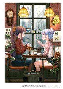 Rating: Questionable Score: 12 Tags: new_game! suzukaze_aoba takimoto_hifumi tokunou_shoutarou User: kiyoe