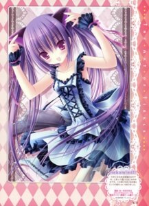 Rating: Safe Score: 40 Tags: animal_ears dress gothic_lolita lolita_fashion nekomimi tinkle User: crim