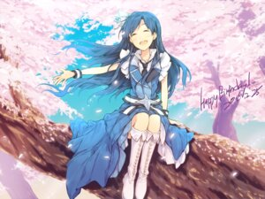 Rating: Safe Score: 23 Tags: asterisk_(artist) dress kisaragi_chihaya the_idolm@ster User: Mr_GT