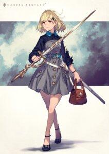 Rating: Safe Score: 36 Tags: dress heels kusano_shinta sword User: Dreista