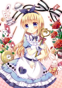 Rating: Safe Score: 43 Tags: aino_osaru alice alice_in_wonderland User: 椎名深夏