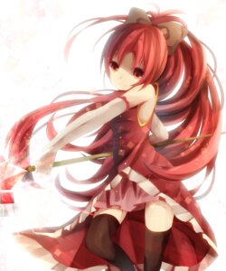 Rating: Safe Score: 18 Tags: dress puella_magi_madoka_magica sakura_kyouko uiyuzo User: darkies