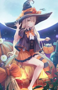 Rating: Safe Score: 29 Tags: cleavage doroshi halloween thighhighs witch User: Mr_GT