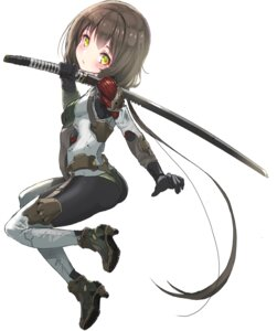 Rating: Safe Score: 28 Tags: bodysuit heels ninja oota_youjo sword User: nphuongsun93