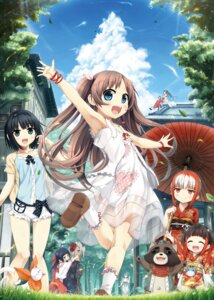 Rating: Safe Score: 41 Tags: cura dress kimono lose miko monobeno see_through tagme umbrella User: Twinsenzw