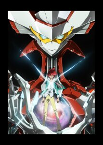 Rating: Safe Score: 7 Tags: itou_yoshiyuki male mecha star_driver tsunashi_takuto User: Decors