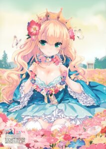 Rating: Safe Score: 78 Tags: cleavage dress qp:flapper sakura_koharu stockings thighhighs User: Hatsukoi