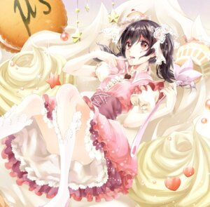Rating: Questionable Score: 44 Tags: cream dress love_live! nopan yache yazawa_nico User: Mr_GT