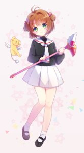 Rating: Safe Score: 41 Tags: card_captor_sakura kerberos kinomoto_sakura reta seifuku weapon User: Mr_GT