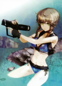 Rating: Safe Score: 43 Tags: amane_suzuha bikini gun huke steins;gate swimsuits User: Radioactive