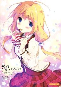 Rating: Safe Score: 67 Tags: hanasaki_work_spring kotobuki_hikari saga_planets seifuku shiratama User: Twinsenzw