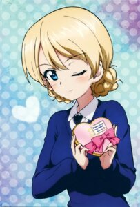 Rating: Safe Score: 35 Tags: darjeeling girls_und_panzer seifuku valentine User: Radioactive