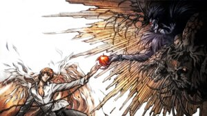 Rating: Safe Score: 12 Tags: death_note ryuk yagami_light User: kamel
