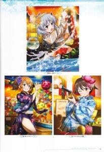 Rating: Safe Score: 6 Tags: charlotte_e_yeager gun kimono miyafuji_yoshika sanya_v_litvyak strike_witches tagme User: Nepcoheart