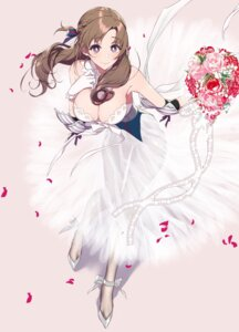 Rating: Safe Score: 31 Tags: dress no_bra oosuki_mamako pantyhose pochi_(pochigoya) see_through tagme wedding_dress User: kiyoe