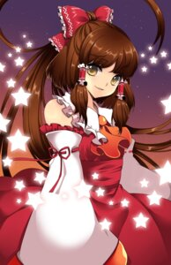 Rating: Safe Score: 12 Tags: hakurei_reimu jeminl touhou User: charunetra