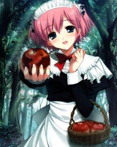 Rating: Safe Score: 77 Tags: fumio grisaia_no_kajitsu komine_sachi maid User: fairyren
