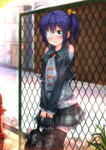 Rating: Safe Score: 114 Tags: chuunibyou_demo_koi_ga_shitai! eyepatch swordsouls takanashi_rikka thighhighs User: 椎名深夏