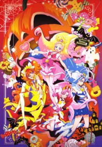 Rating: Safe Score: 10 Tags: akagi_towa amanogawa_kirara dress go!_princess_pretty_cure halloween haruno_haruka heels kaidou_minami kamikita_futago pretty_cure thighhighs User: drop