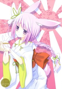 Rating: Safe Score: 19 Tags: animal_ears bunny_ears hinayuki_usa kimono tail User: fireattack