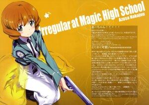 Rating: Safe Score: 42 Tags: gun kurashima_tomoyasu mahouka_koukou_no_rettousei nakajou_azusa seifuku User: drop