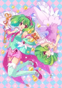 Rating: Safe Score: 33 Tags: carnelian macross macross_frontier pantyhose ranka_lee stockings thighhighs User: Nekotsúh