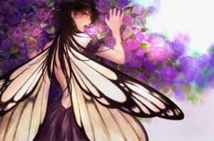 Rating: Safe Score: 36 Tags: dress no_bra romiy upscaled wings User: charunetra