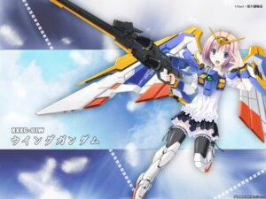 Rating: Safe Score: 7 Tags: hiten mecha_musume sscp wallpaper User: fireattack