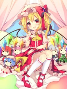 Rating: Safe Score: 49 Tags: chibi flandre_scarlet heels hong_meiling izayoi_sakuya koakuma patchouli_knowledge remilia_scarlet ruhika touhou wings User: aaayu