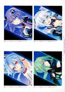 Rating: Questionable Score: 12 Tags: black_heart choujigen_game_neptune green_heart kami_jigen_game_neptune_v purple_heart tsunako white_heart User: Radioactive