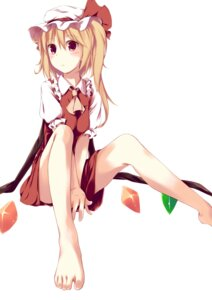 Rating: Safe Score: 57 Tags: fal_maro feet flandre_scarlet touhou User: Nekotsúh