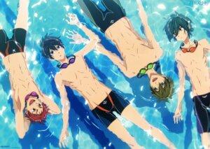 Rating: Safe Score: 9 Tags: free! high_speed! kirishima_ikuya male maruko_tatsunari nanase_haruka shiina_asahi swimsuits tachibana_makoto User: kunkakun