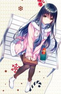 Rating: Safe Score: 47 Tags: ayase_miharu dress pantyhose riv seirei_gensouki sweater User: kiyoe
