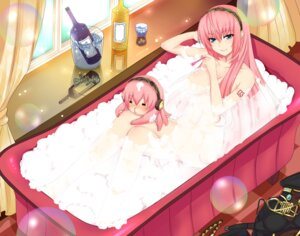 Rating: Questionable Score: 55 Tags: bathing megurine_luka naked nuko_(mikupantu) vocaloid User: blooregardo