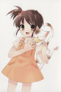 Rating: Safe Score: 15 Tags: dress ito_noizi kyon's_sister neko shamisen summer_dress suzumiya_haruhi_no_yuuutsu User: Radioactive