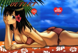 Rating: Questionable Score: 17 Tags: bikini cleavage fixme ichigo_100 swimsuits toujou_aya yoshizane_akihiro User: Binabik