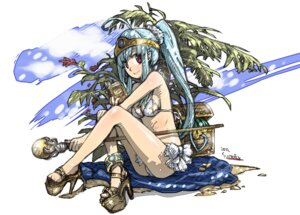 Rating: Safe Score: 22 Tags: bikini dragon_quest dragon_quest_iii haku sage_(dq3) swimsuits User: blooregardo