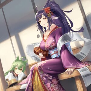 Rating: Safe Score: 39 Tags: akashi_(azur_lane) animal_ears azur_lane cleavage cuboon houshou_(azur_lane) kimono open_shirt seifuku User: Nepcoheart