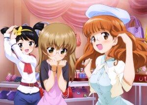 Rating: Safe Score: 28 Tags: dress girls_und_panzer megane oono_aya takebe_saori utsugi_yuuki yoshida_nobuyoshi User: drop