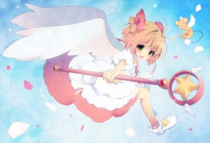 Rating: Safe Score: 24 Tags: card_captor_sakura dress kanora kerberos kinomoto_sakura wings User: 椎名深夏