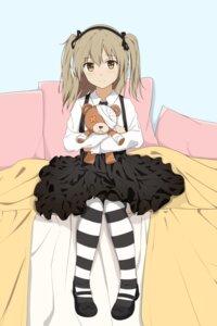 Rating: Safe Score: 25 Tags: bandages girls_und_panzer gothic_lolita l.tea lolita_fashion pantyhose shimada_arisu User: saemonnokami