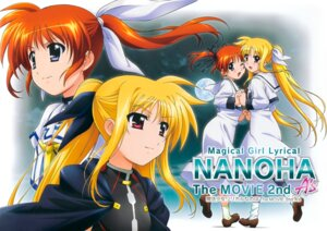 Rating: Safe Score: 7 Tags: fate_testarossa mahou_shoujo_lyrical_nanoha mahou_shoujo_lyrical_nanoha_a's mahou_shoujo_lyrical_nanoha_the_movie_2nd_a's seifuku takamachi_nanoha User: Hatsukoi