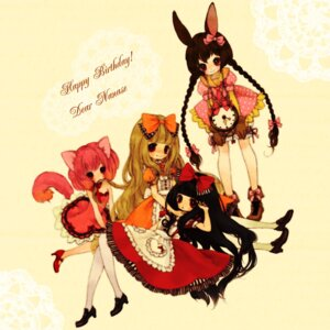 Rating: Safe Score: 12 Tags: animal_ears bunny_ears dress kabasawa_kina lolita_fashion nekomimi pantyhose tail User: Radioactive