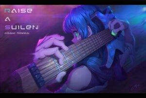 Rating: Safe Score: 20 Tags: asahi_rokka bang_dream! guitar regition User: Dreista