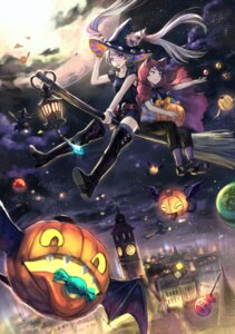 Rating: Safe Score: 23 Tags: animal_ears azutarou halloween heels thighhighs witch User: Mr_GT