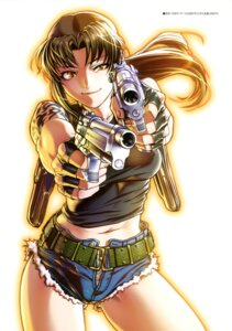 Rating: Safe Score: 20 Tags: black_lagoon gun hiroe_rei revy tattoo User: drop