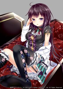 Rating: Safe Score: 45 Tags: feet hakuda_tofu open_shirt shinkai_no_valkyrie stockings thighhighs User: Mr_GT