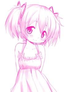 Rating: Safe Score: 22 Tags: dress kaname_madoka monochrome puella_magi_madoka_magica tsubaki_(tatajd) User: Radioactive