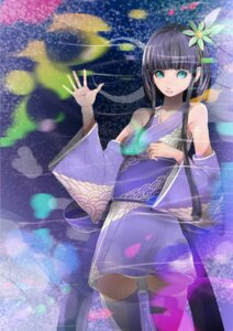 Rating: Safe Score: 5 Tags: japanese_clothes kimono miyagi_ruka thighhighs User: charunetra